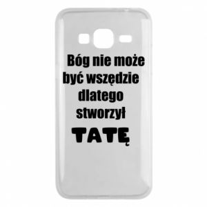 Phone case for Samsung J3 2016 God can not be everywhere, for Dad