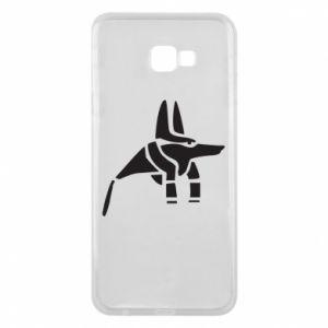 Etui na Samsung J4 Plus 2018 Bóg starożytnych Egipcjan Anubis