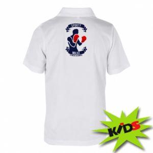 Koszulka polo dziecięca Bokser