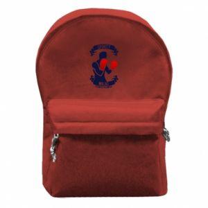 Plecak z przednią kieszenią Bokser