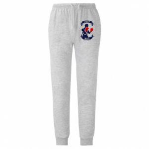 Męskie spodnie lekkie Boxer