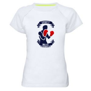 Koszulka sportowa damska Bokser