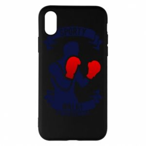 Phone case for iPhone X/Xs Boxer
