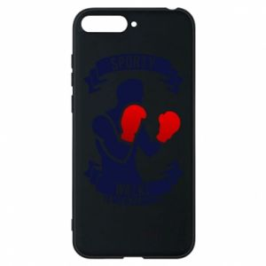 Phone case for Huawei Y6 2018 Boxer