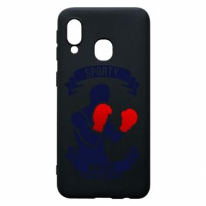 Phone case for Samsung A40 Boxer