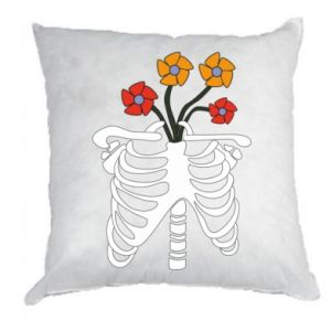 Pillow Bones with flowers