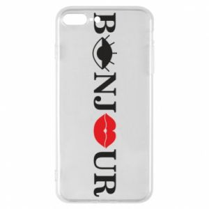 Etui na iPhone 8 Plus Bonjour eye and lips