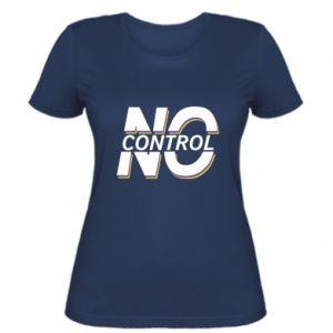 Damska koszulka No control