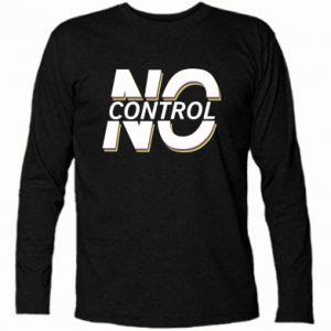 Koszulka z długim rękawem No control