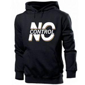 Męska bluza z kapturem No control