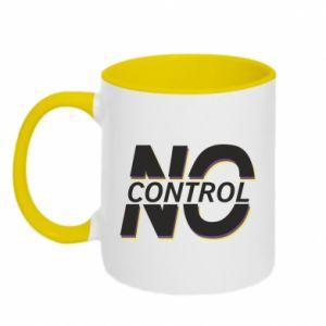 Kubek dwukolorowy No control