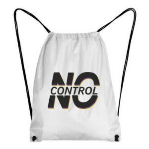 Plecak-worek No control