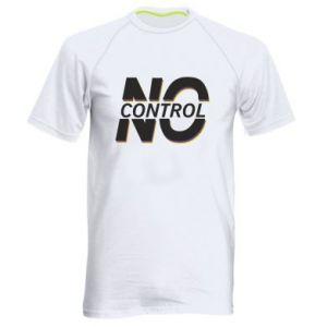 Męska koszulka sportowa No control