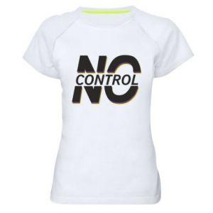 Damska koszulka sportowa No control