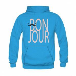 Bluza z kapturem dziecięca Bonjour