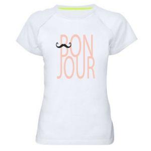 Damska koszulka sportowa Bonjour