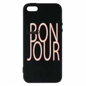Etui na iPhone 5/5S/SE Bonjour