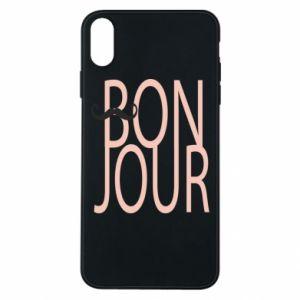 Etui na iPhone Xs Max Bonjour