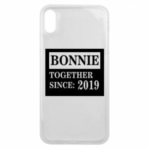 Etui na iPhone Xs Max Bonnie Together since: 2019