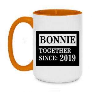 Kubek dwukolorowy 450ml Bonnie Together since: 2019