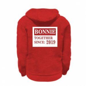 Bluza na zamek dziecięca Bonnie Together since: 2019