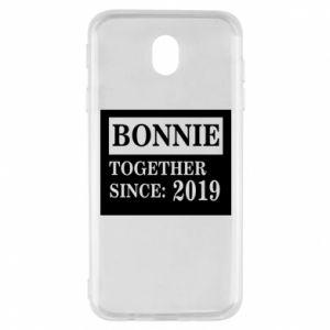 Etui na Samsung J7 2017 Bonnie Together since: 2019
