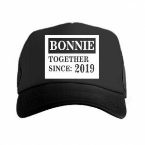 Czapka trucker Bonnie Together since: 2019