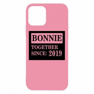 Etui na iPhone 12/12 Pro Bonnie Together since: 2019