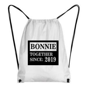 Plecak-worek Bonnie Together since: 2019