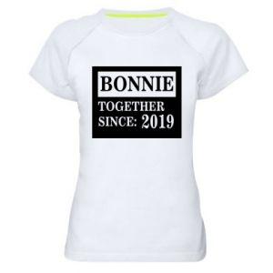Koszulka sportowa damska Bonnie Together since: 2019