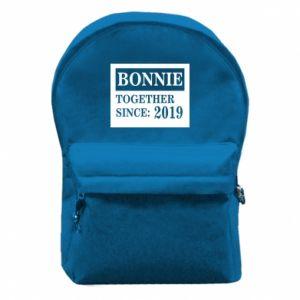 Plecak z przednią kieszenią Bonnie Together since: 2019