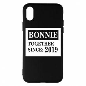 Etui na iPhone X/Xs Bonnie Together since: 2019