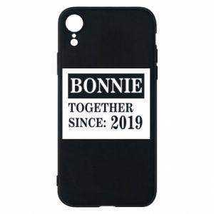 Etui na iPhone XR Bonnie Together since: 2019
