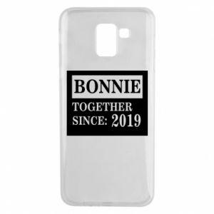 Etui na Samsung J6 Bonnie Together since: 2019