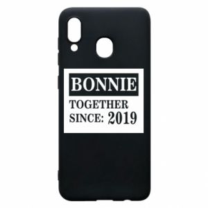 Etui na Samsung A30 Bonnie Together since: 2019
