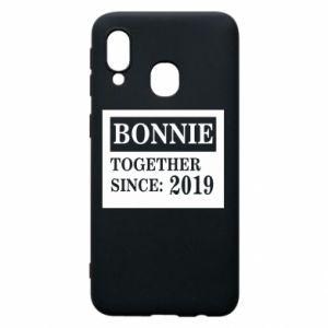 Etui na Samsung A40 Bonnie Together since: 2019