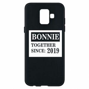 Etui na Samsung A6 2018 Bonnie Together since: 2019