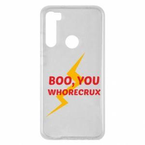 Etui na Xiaomi Redmi Note 8 Boo, you whorecrux
