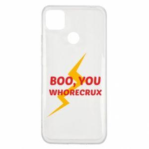 Etui na Xiaomi Redmi 9c Boo, you whorecrux