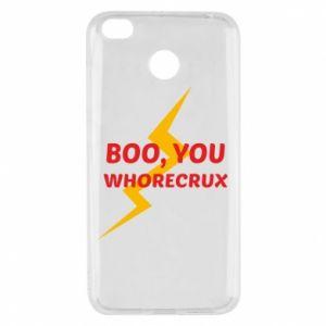 Etui na Xiaomi Redmi 4X Boo, you whorecrux
