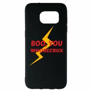 Etui na Samsung S7 EDGE Boo, you whorecrux