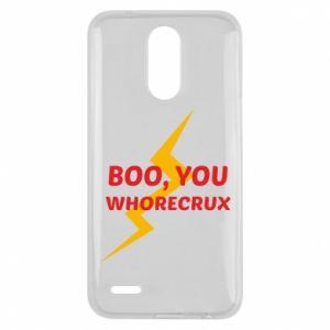 Etui na Lg K10 2017 Boo, you whorecrux