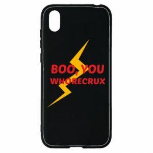 Etui na Huawei Y5 2019 Boo, you whorecrux