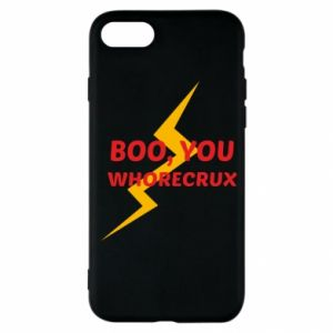 Etui na iPhone SE 2020 Boo, you whorecrux