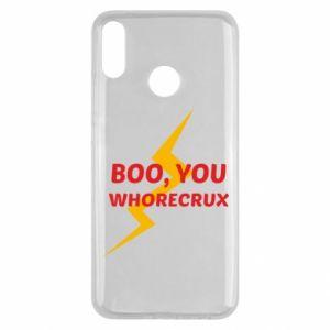 Etui na Huawei Y9 2019 Boo, you whorecrux