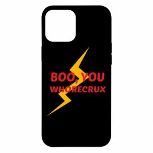 Etui na iPhone 12 Pro Max Boo, you whorecrux