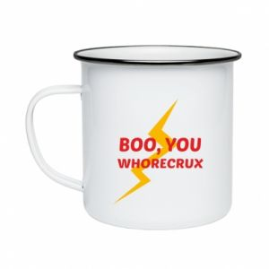 Kubek emaliowany Boo, you whorecrux
