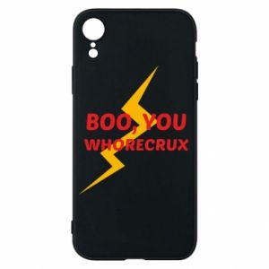 Etui na iPhone XR Boo, you whorecrux
