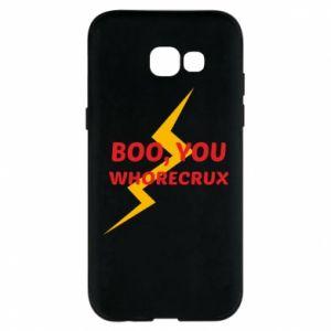 Etui na Samsung A5 2017 Boo, you whorecrux