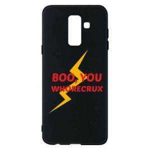 Etui na Samsung A6+ 2018 Boo, you whorecrux